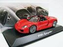 PORSCHE特注 1/43 ポルシェ 918 スパイダー Spyder (レッド) 2015