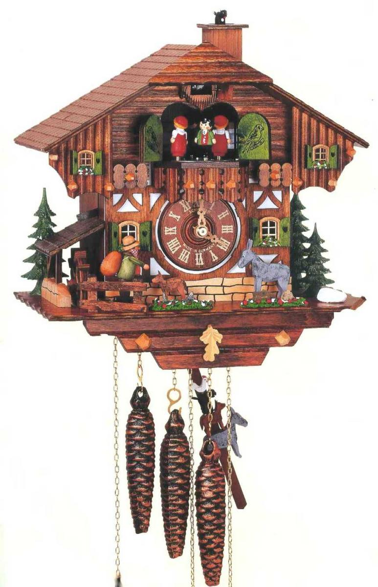 Kitakita rakuten global market made by alton schneider cuckoo clock cuckoo clock mt1100 9 - Cuckoo clock plans ...