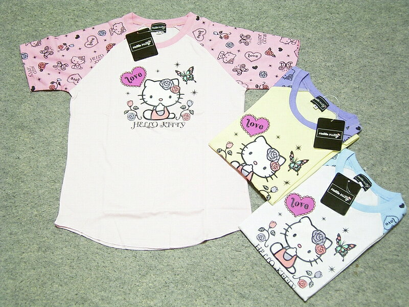 ! Sanrio Hello Kitty キャラクターレディス T shirts discount! Kitty t-shirt Sanrio T shirt rming T