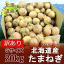 【訳あり 玉ねぎ 北海道】北海道産 たまねぎ 玉葱(たまねぎ) Sサイズ 20 kg(20キロ)価格