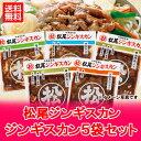 【北海道 ジンギスカン セット 送料無料】松尾ジンギスカン ジンギスカン 5袋セット(4