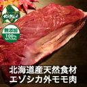 【北海道産】エゾシカ肉/鹿肉/シカ肉/ジビエ 外モモ 500g【無添加】