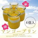 【4個入り】とろける☆特製マンゴープリン!完熟マンゴー使用●夏季限定!【ネット限定】