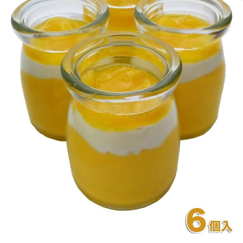 6個入りとろける特製マンゴープリンプリンスイーツ洋菓子ギフト完熟マンゴー使用夏季限定ネット限定10P