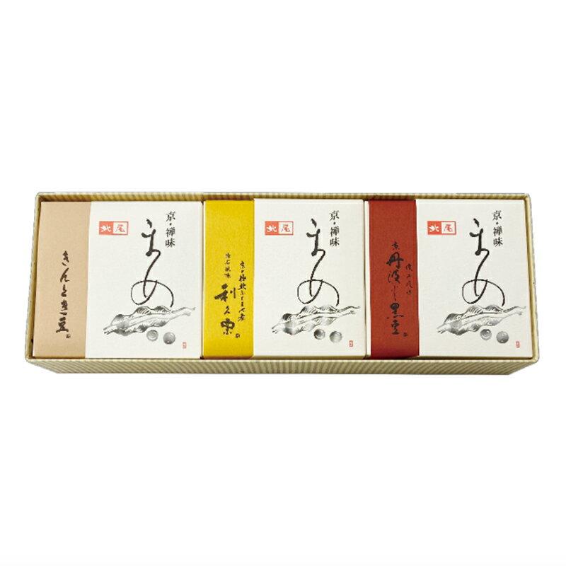 【お歳暮】京の煮豆 3種入【楽ギフ_包装】