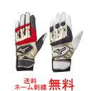 【ネーム刺繍無料】●ミズノ(mizuno) 少年用バッティング手袋 グローバルエリートRG 両手用 1EJEY150【送料無料/子供用/ジュニア】