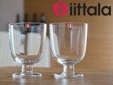 【限定】iittala/イッタラ Lempi/レンピ グラス 350ml 2個セット(951169)<クリア>