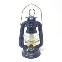 SPICE バカンス LEDランタン SFVL1510NY 《 スパイス ランタン ネイビー LED 電池式 エコ レトロ アウトドア グランピング 緊急時 ライト インテリア 》の画像