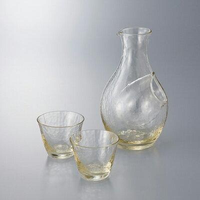 高瀬川琥珀 冷酒セット(G604‐M72)【日本製】( キッチンブランチ )