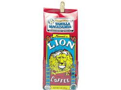 ライオンコーヒーバニラマカダミア7oz(198g)