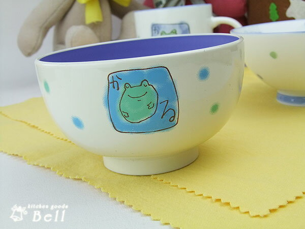 かえる キッズ汁椀(漆器) ことばかくれんぼ♪ 業務用食器