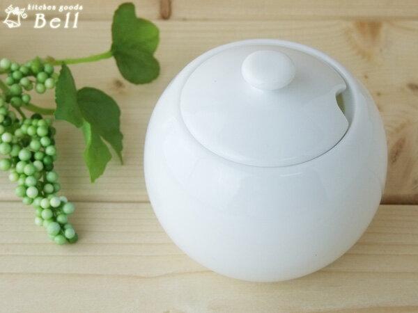 comodoコモドシュガーポット-白い食器/洋食器/カフェ食器/おしゃれ/砂糖入れ/業務用食器