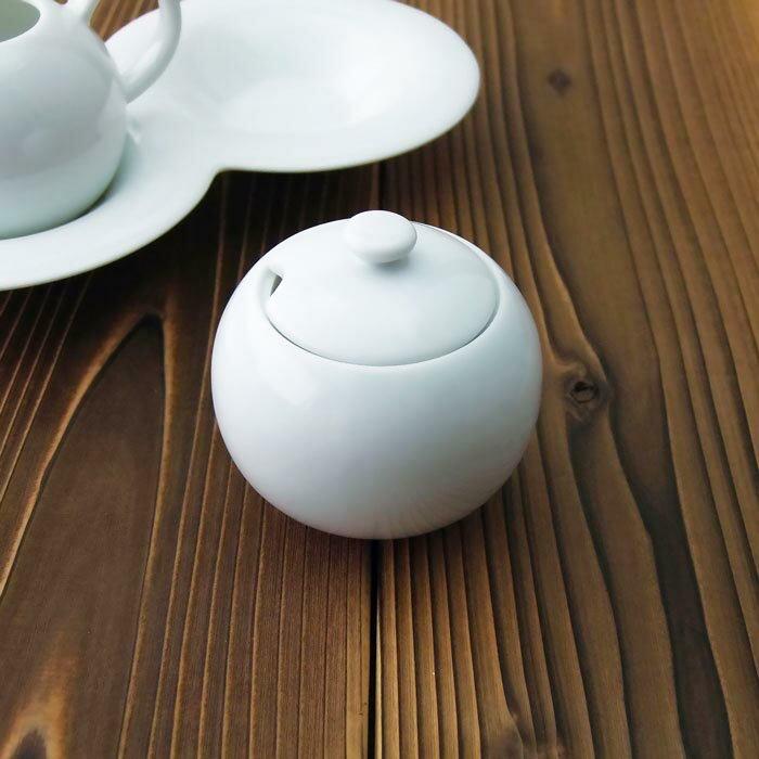 comodoコモドシュガーポット白い食器/洋食器/カフェ食器/おしゃれ/砂糖入れ/業務用食器