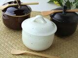 粉引梨地 ころん 茶つぼ茶碗むし碗 (スプーン付)【RCP】 【HLSDU】 業務用食器