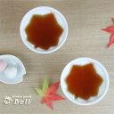 もみじ 湯呑(煎茶)  紅葉 葉型/湯飲み/湯のみ/煎茶/珍味小鉢  【HLS_DU】 業務用食器