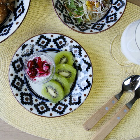 インディー 16.5cm 取り皿 中皿/5.0皿/丸皿/取り皿/フルーツ皿/デザート皿/プレート/皿/食器 おしゃれ/業務用食器