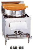 業務用厨房機器【】新品!SANPO ガス式麺釜 SSB-65