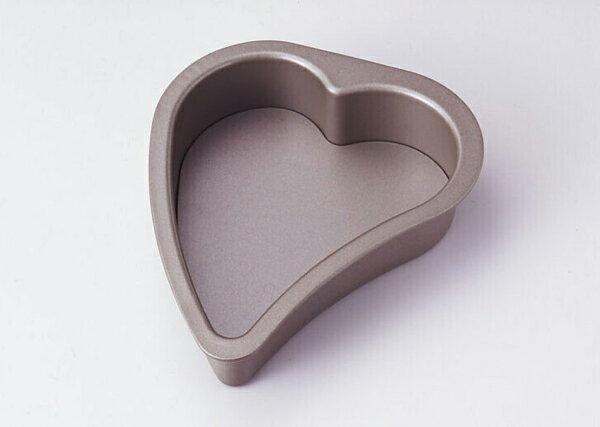バレンタインデーに!ベイクウェアー 『クインズハート底取型 S 』 フッ素樹脂加工