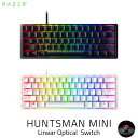 Razer Huntsman Mini 英語配列 静音リニアオプティカルスイッチ ゲーミング ミニキーボード レーザー (キーボード) [PSR]