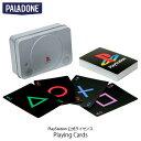 PALADONE PlayStation 1st Gen Playing Cards PlayStation 公式ライセンス品 PLDN-008 パラドン (インテリア雑貨) PSR