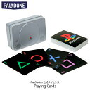 PALADONE PlayStation 1st Gen Playing Cards PlayStation 公式ライセンス品 PLDN-008 パラドン (インテリア雑貨)