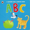 ABC-A LADYBIRD EARLY LEARNING BOOK/バーゲンブック{ボードブックImport1 洋書 児童洋書 児童 子供 こども 英語 えいご}
