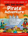 ABC Dot-to-Dot Pirate Adventure/バーゲンブック{Import1 洋書 児童洋書 児童 子供 こども 英語 えいご}