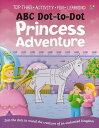 ABC Dot-to-Dot Princess Adventure/バーゲンブック{Import1 洋書 児童洋書 児童 子供 こども 英語 えいご}