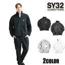 SY32 by SWEET YEARS ジャケット メンズ フリースブルゾントップス ブラック グレー M/L/XL