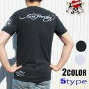 ショッピングhardy エドハーディー ED HARDY tシャツ メンズ ブラック ホワイト S-XL ラブキル スカル ローズ タトゥー メンズTシャツ Tシャツ EdHardy men's T-shirts 半袖 夏 春夏