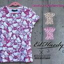 コラボTシャツ エドハーディー×サンリオ ハローキティー Ed Hardy×Sanrio Hello Kitty レディース Tシャツ ラブキル スカル W02SKM エド・ハーディー edhardy タトゥー