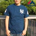 マジェスティック Tシャツ 半袖 メンズ Tee Majestic Athletic 半袖t MM01-NYK-0242 ニューヨーク ヤンキース