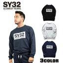 SY32 by SWEET YEARS メンズ トレーナー ...