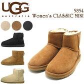 アグ UGG ブーツ ムートンブーツ UGG AUSTRALIA クラシック ミニ シープスキンブーツ アグブーツ 5854W アグ