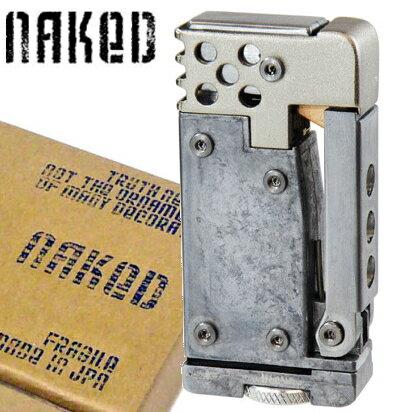 オイルライター NAKED ネイキッド ベアーメタルの商品画像