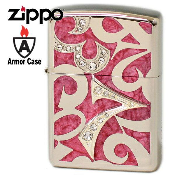 ZIPPO ジッポー NDZ-PK アーマーニューダイアル ピンク かわいい ジッポーライター 【シリアルNo.刻印】ジッポ・ジッポーオイルライター zippo