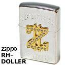 ZIPPO ジッポ/ジッポー RH-DOLLER ラインストーンメタルダラー ジッポーライター Zippo Lighter ジッポ/ジッポー zippo