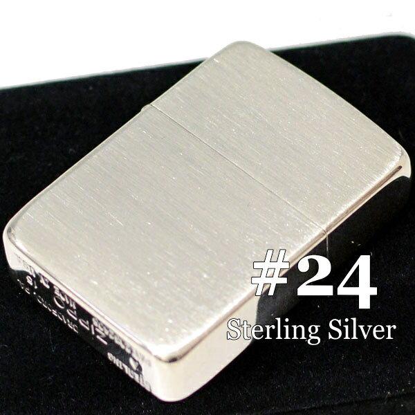 ジッポ スターリングシルバー No.24