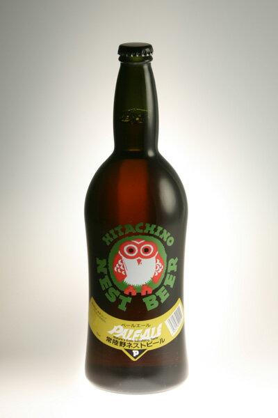 【常陸野ネストビール】ペールエール Pale Ale 720ml【クラフトビール】【地ビール】【ビール】