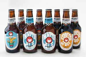 330 ml of eight Hitachi field nest beer export set sets