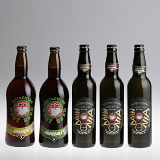 Hitachi-wild nest bird NIPPONIA 550 ml Amber Ale pale ale 720 ml 5 book set NNB-43