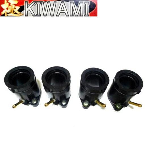 KIWAMI キャブレターインシュレーター セット FOR ヤマハ Y-FZR250(2KR/2RF), FZ250R(1HX)