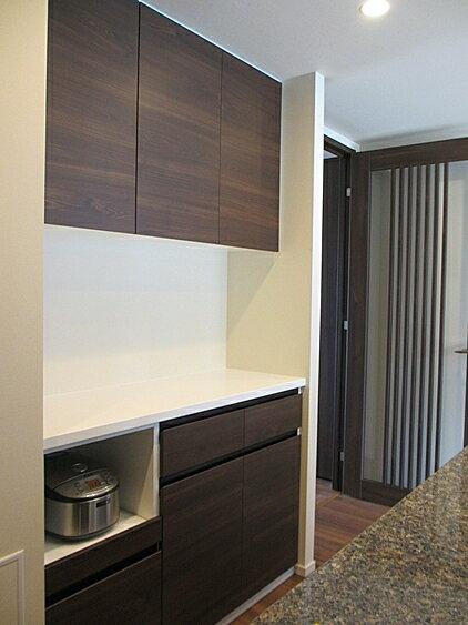 オーダー家具 キッチン収納 オーダーメイド 食器棚 【お見積申込価格】