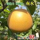 訳あり 完熟 味極み 梨 南水 減農薬 長野県産10キロ...