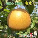訳あり 完熟 味極み 梨 南水 減農薬 長野県産5キロ