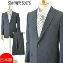 日本製 春夏用 A4A6サイズのみMILLIONTEX ノータック スリムスーツ:2B×1 RM229F★パンツ裾未処理