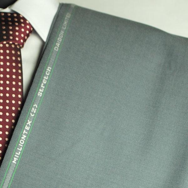 【お試し】当店で初めて作るお客様専用 【A】:お好みの素材・MILLIONTEX生地を使って縫製したスーツPOS501807AZ400-36 春夏用パターンオーダースーツ 用尺3mのS上下出来上がり価格/大きいサイズの方はお遠慮ください