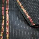 【A】:お好みの素材:POAcw8013-1ビッグサイズ(bigsize)の方に最適:super100'ダークブルー色のストライプ柄合物(スリーシーズン)パターンオーダースーツのS上下出来上がり価格