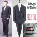 【限定】*合冬服*フォーマルブラックスーツダブル4B×1:RM16000パンツはツータック又はワンタックから選択願います。★パンツ裾未処理10P21Aug14