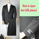 限定・日本製】*合服*ブラックスーツ:シングル略礼服、喪服:2B×1:アジャスター付き:MU2400:当店でトレンドの高い商品10P21Aug14
